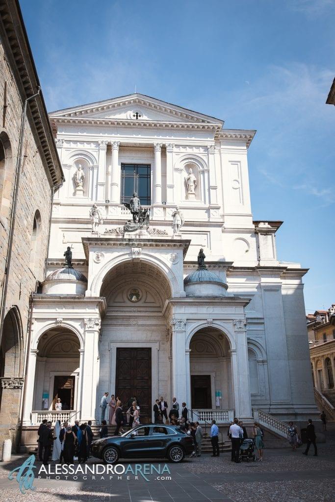 Foto Matrimonio Cattedrale di Bergamo Città Alta - Destination Wedding Italy