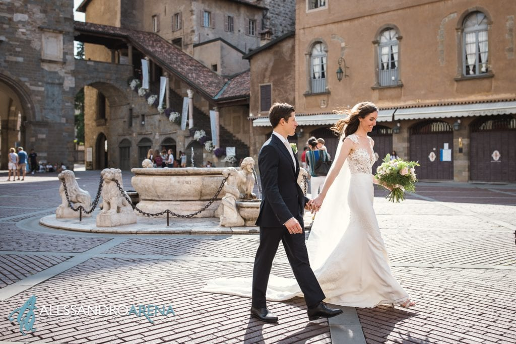 Destination Wedding Bergamo - Piazza Vecchia Bergamo Alta