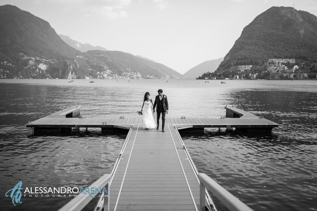 Foto Matrimonio Sul Lago di Lugano
