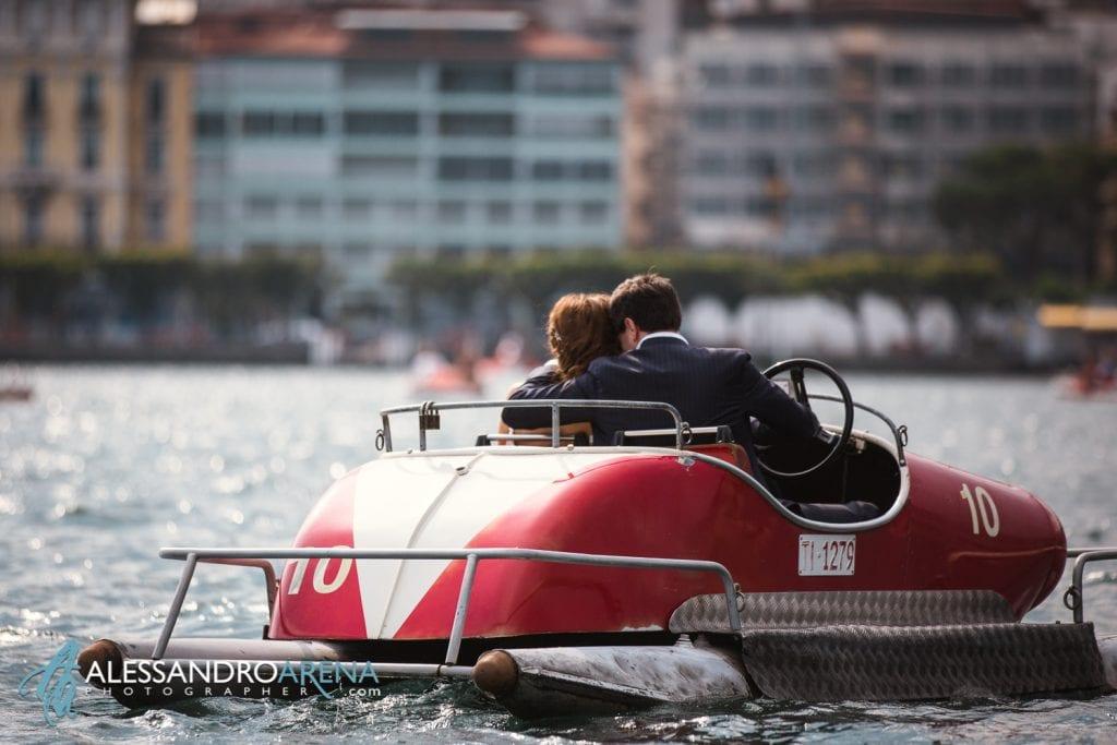 Foto Matrimonio Sposi Sul Lago di Lugano
