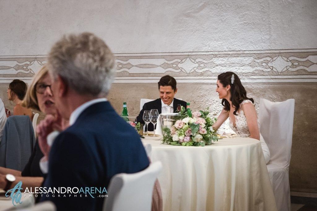 Tavolo degli sposi - Location Matrimonio Bergamo - Villa Canton