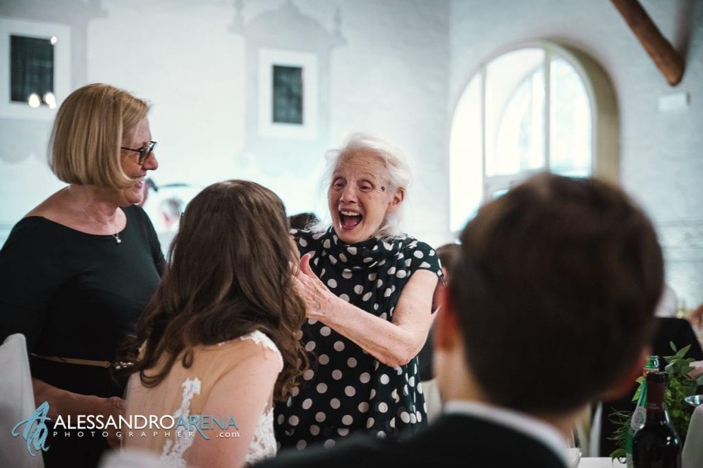Auguri alla sposa dalla nuova nonna - Location Matrimonio Bergamo - Villa Canton