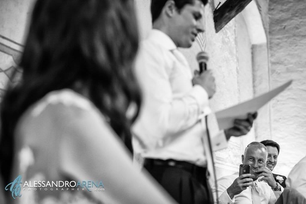 Discorso dello sposo - Miglior amico