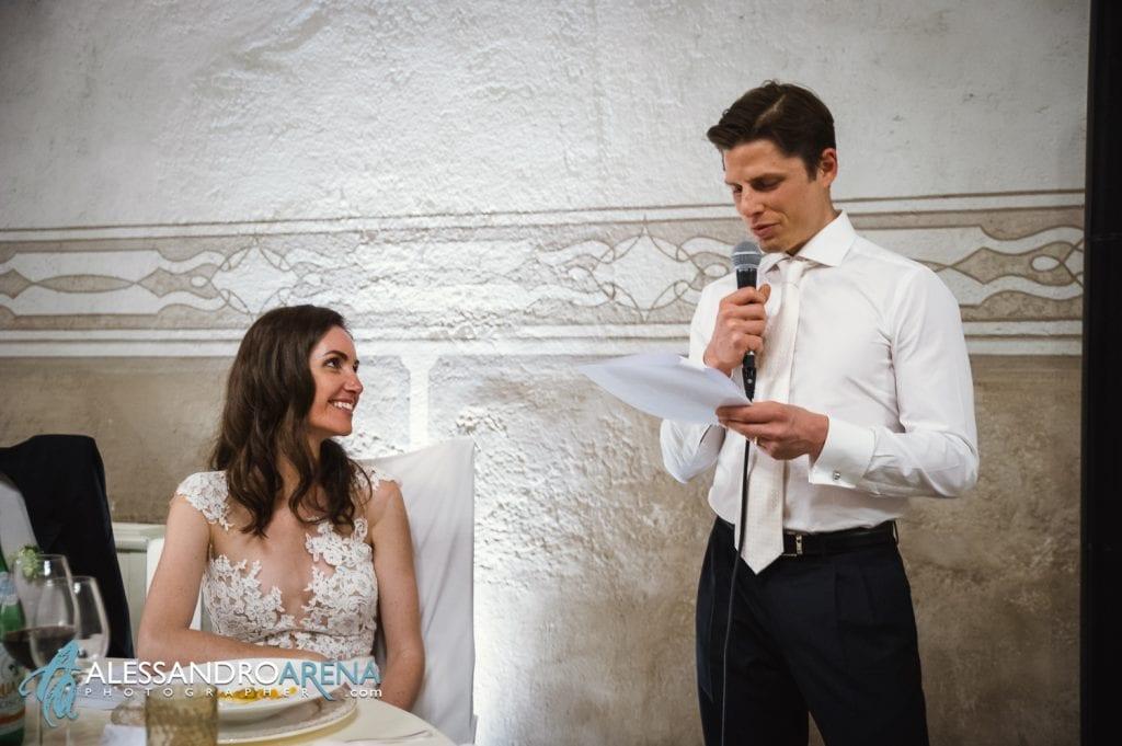 Discorso dello sposo alla Sposa