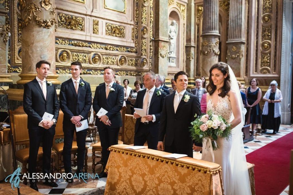 Matrimonio Cattedrale di Bergamo Città Alta - Sposi