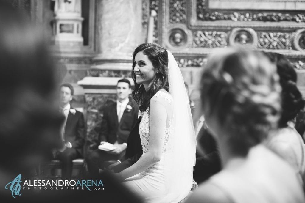La sposa - Matrimonio Cattedrale di Bergamo Città Alta - Sant'Alessandro