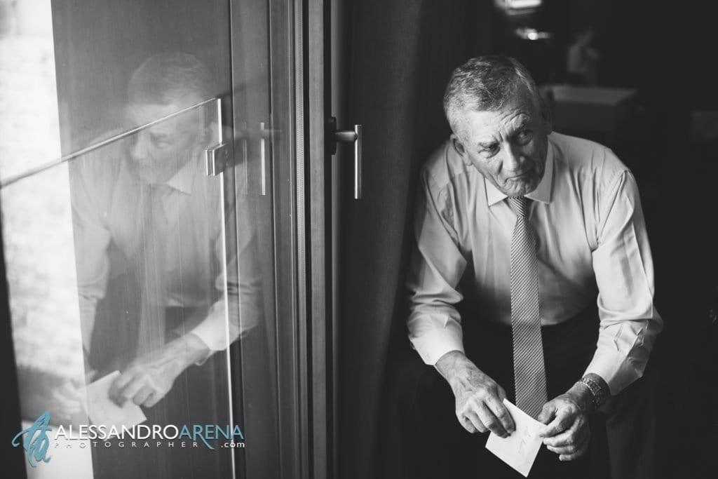 Padre della sposa - Bride's getting ready