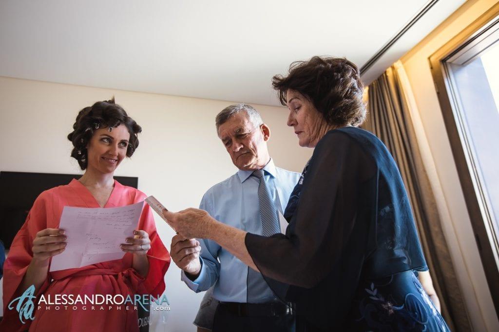 Genitori della sposa - Preparativi Sposa Bergamo