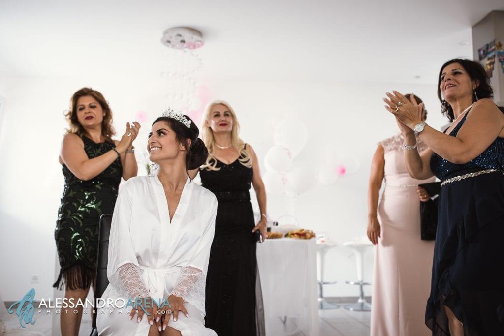 Preparativi sposa - parenti della sposa