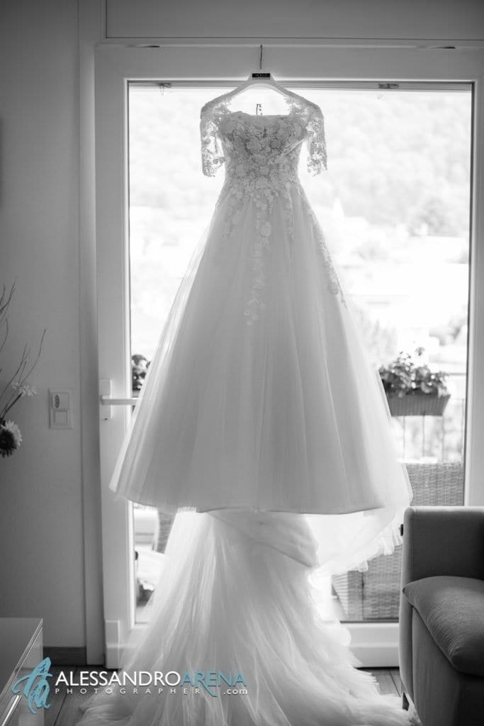 Preparativi sposa - abito Vouge Lugano