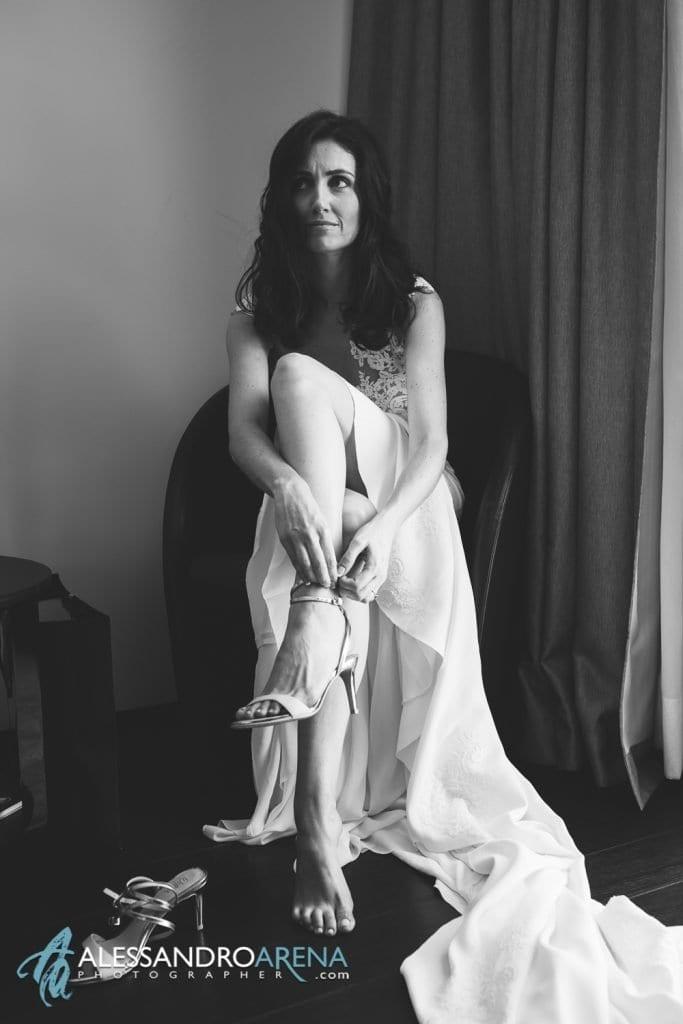 Relais San Lorenzo - La sposa indossa le scarpe