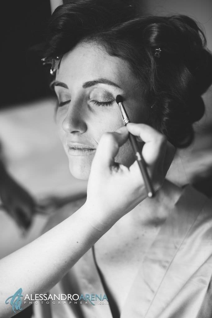 Bride's make up - Bergamo Alta