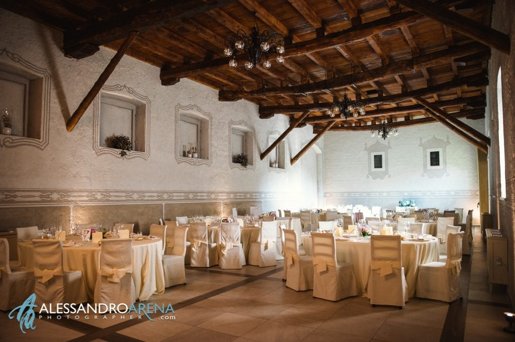 Sala - Villa Canton Trescore-  Location Matrimonio Bergamo