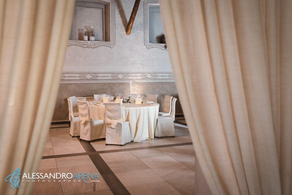 Allestimenti Sala - Villa Canton Trescore-  Location Matrimonio Bergamo