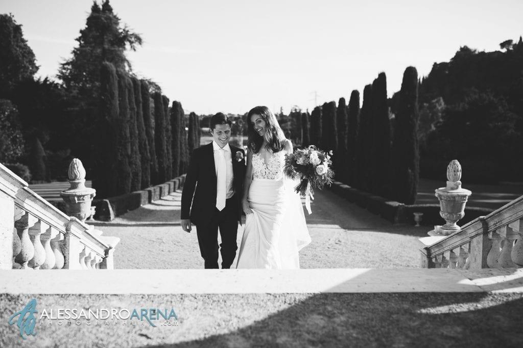 Sposi a Villa Canton Trescore Location Matrimonio Bergamo
