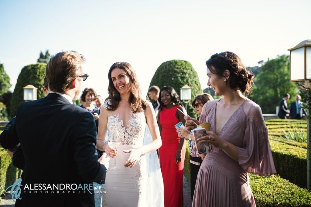 Reportage Aperitivo a Villa Canton Trescore Location Matrimonio Bergamo