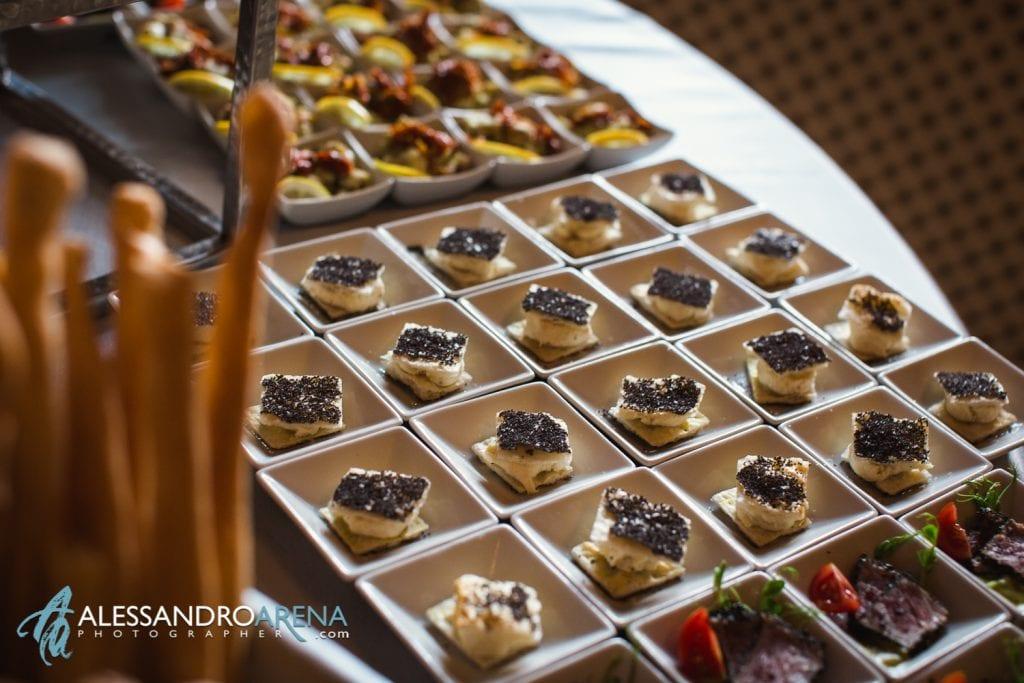 Dettagli aperitivo Lanzarotti Catering Matrimonio a Villa Paradeisos Varese-1