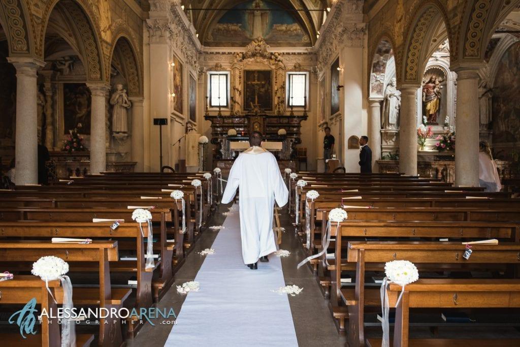 Allestimenti - Matrimonio chiesa di Pazzalino Pregassona Lugano