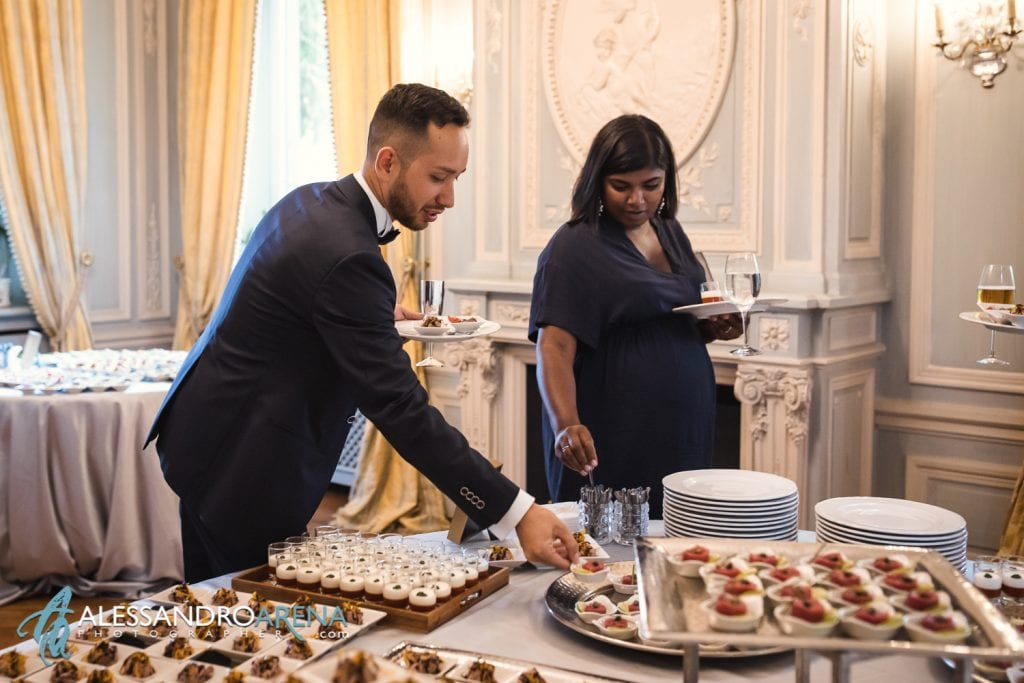 Reportage aperitivo - Matrimonio a Villa Paradeisos Varese - Location per Matrimonio