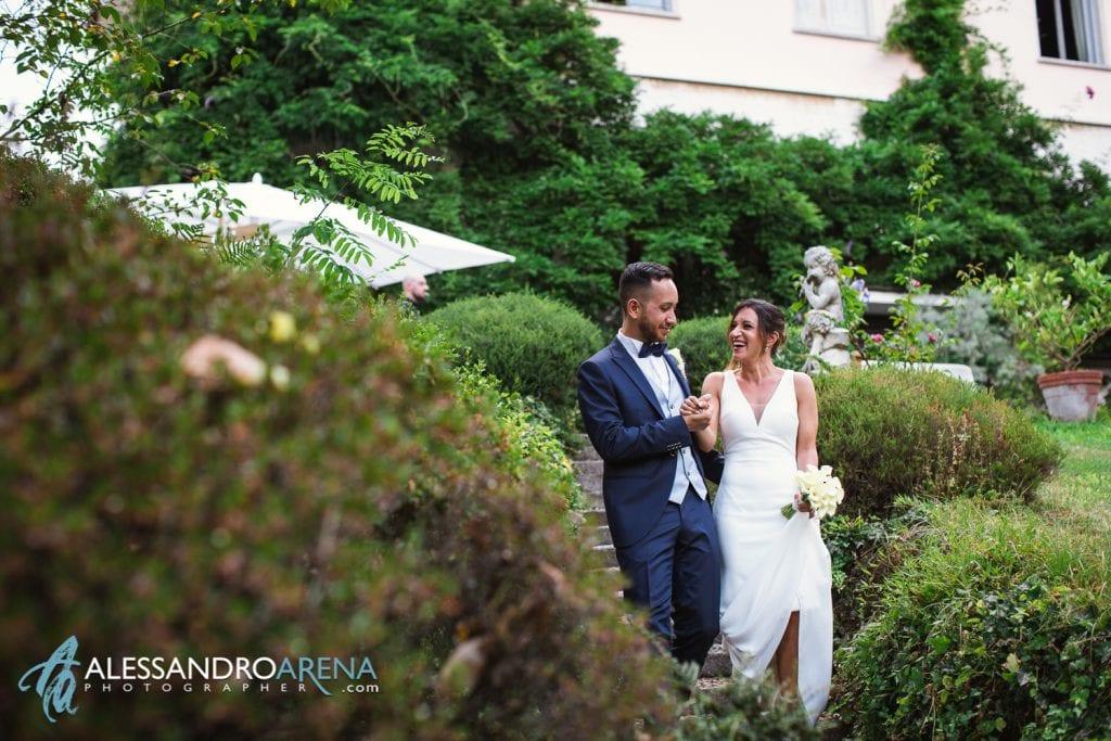 Sposi a Villa Paradeisos Varese - Location per Matrimonio - Varese -1