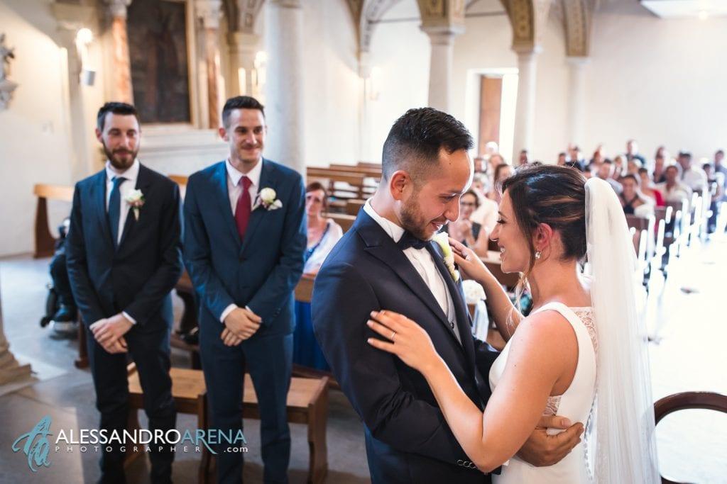 Emozione della sposa