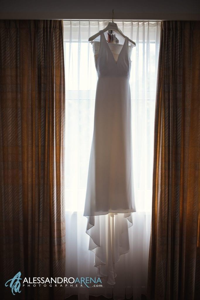 Abito Sposa - matrimonio a villa sassa lugano