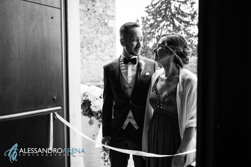 ingresso dello sposo - chiesa di pazzalino pregassona