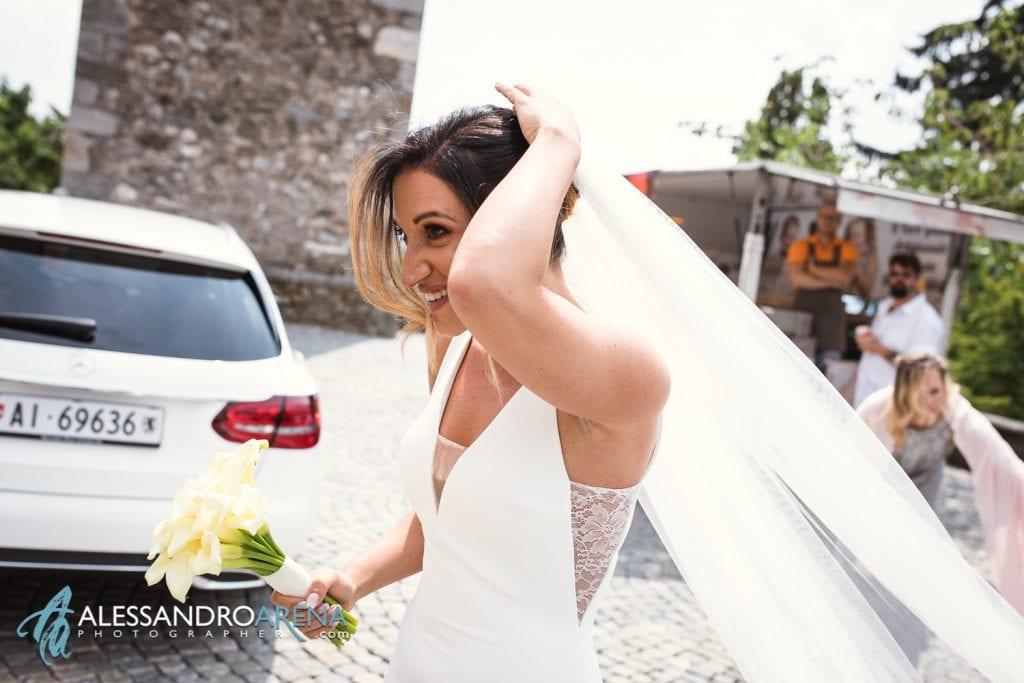 Arrivo della sposa - chiesa di pazzalino pregassona