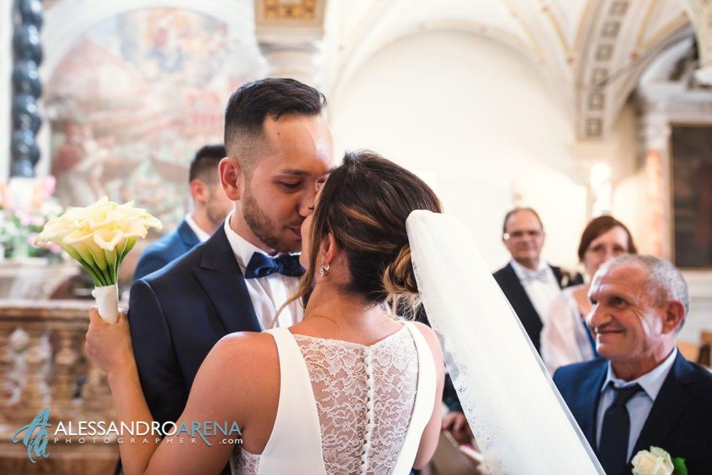 Incontro degli sposi - matrimonio chiesa di pazzalino