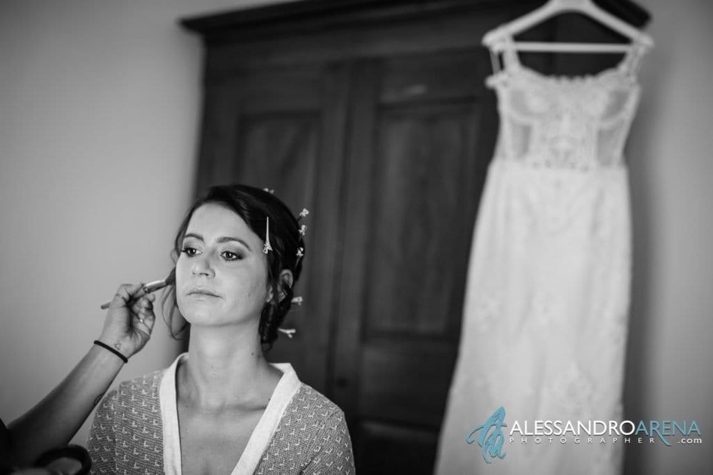 Bride Make-up Lake of Garda