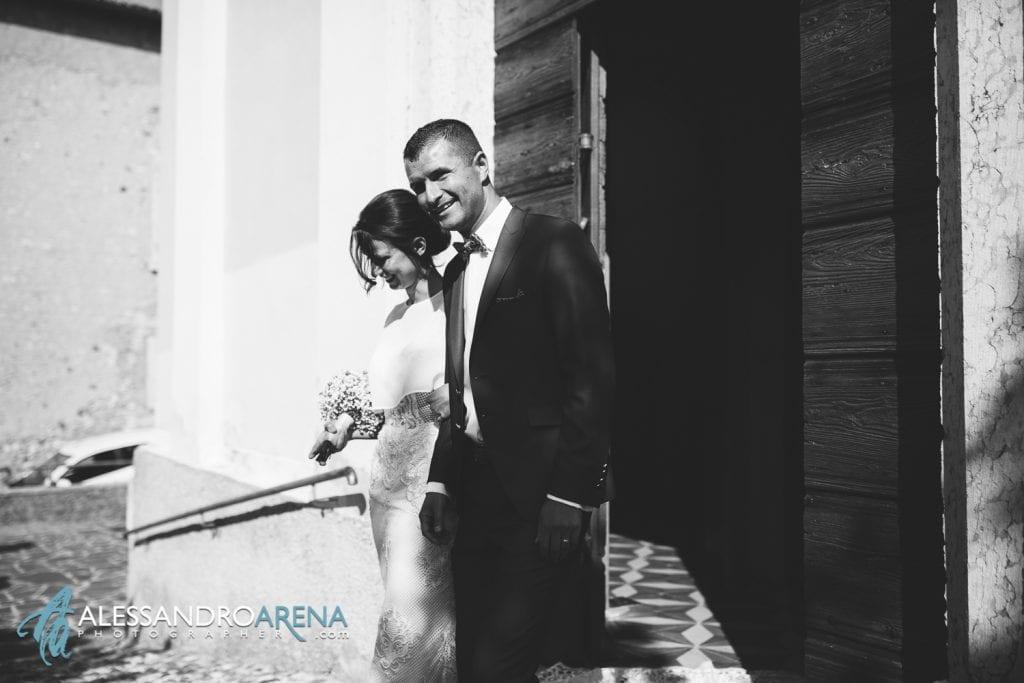 Destination Wedding Lago di Garda - Chiesa San Martino di Albisano - fotografo matrimonio Verona
