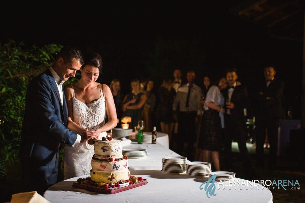 Taglio della torta - Wedding Cake