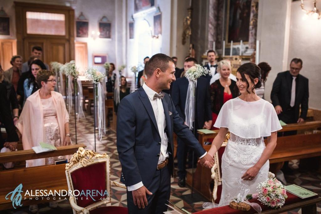 Cerimonio - Matrimonio Chiesa San Martino di Albisano - Lago di Garda - fotografo provincia di verona