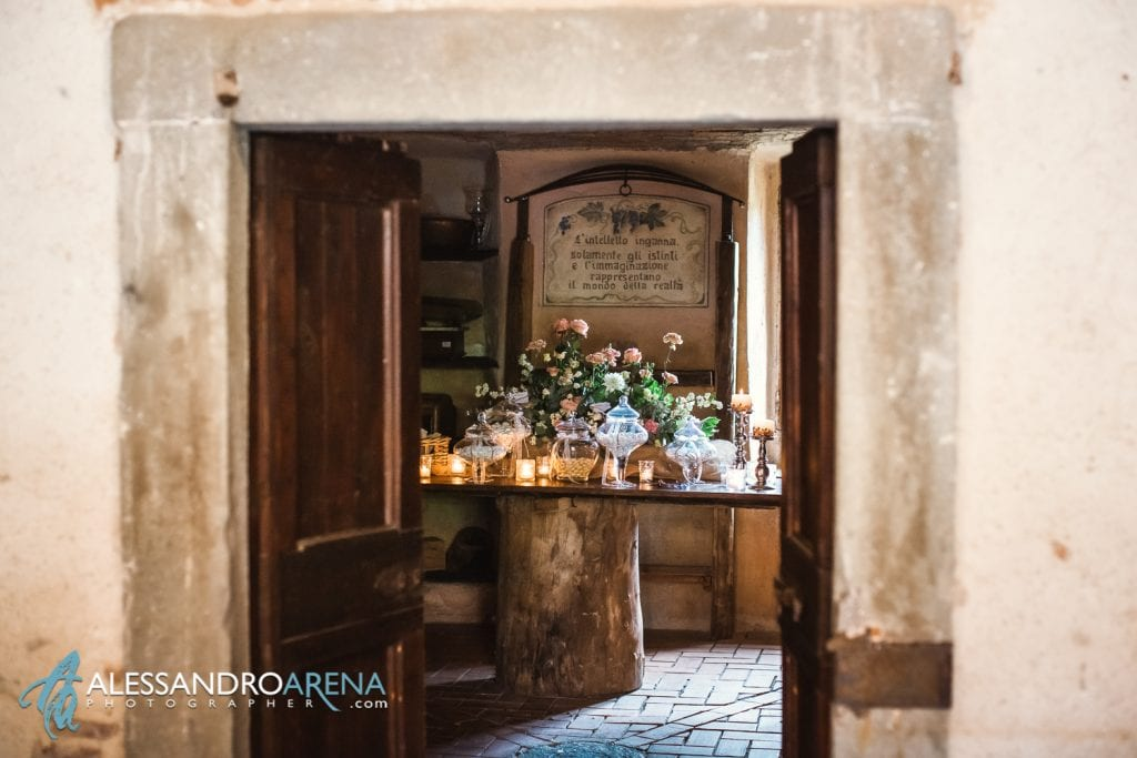 Allestimento Confettata al Mulino dell'olio - Pirola Catering Varese
