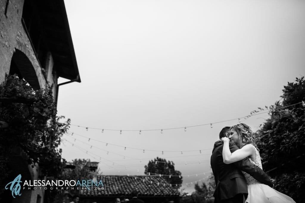 Primo ballo degli sposi al Mulino dell'olio Varese