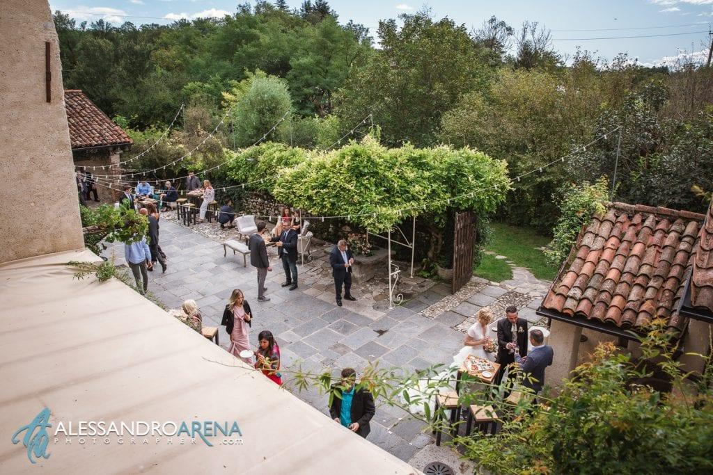 Panoramica dall'alto - Reportage al Mulino delL'olio - Pirola Catering Varese