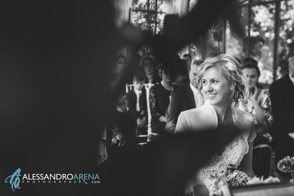 La sposa - Rito civile Mulino dell'olio - Location per matrimoni Varese